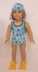 doll clothing darling little competition swim