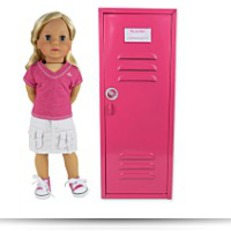 Buy Now 18 Inch Doll Clothes Locker For American
