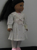 spring party dress fits american dolls