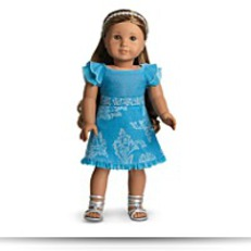 Save American Girl Kananis Party Outfit Dress