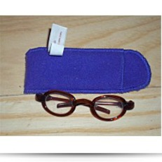 Buy Now Brown Oval Glasses For Dolls