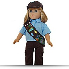 Brownie Pant Outfit Costume Set Doll