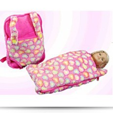 Buy Now Childs Backpack With 18 Doll Sleeping