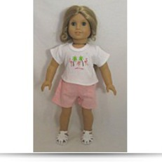 Buy Now Doll Clothing Darling Little Flamingo