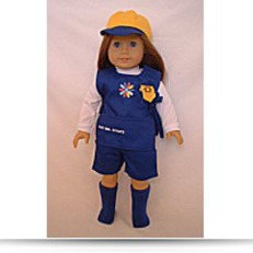 Save Doll Clothing Girl Scouts Daisy Uniforms