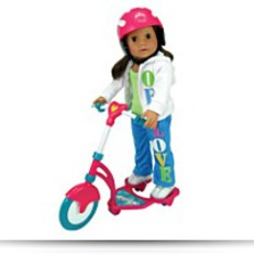 Buy Now Doll Scooter And Helmet Set