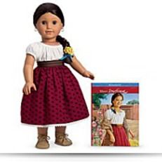 Josefina Doll And Paperback Book