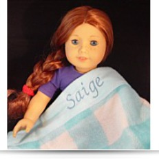 Save Personalized With Name Saige Blue