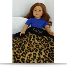 Buy Now Personalized With Name Saige Leopard