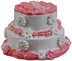 queen's treasures doll tier birthday party