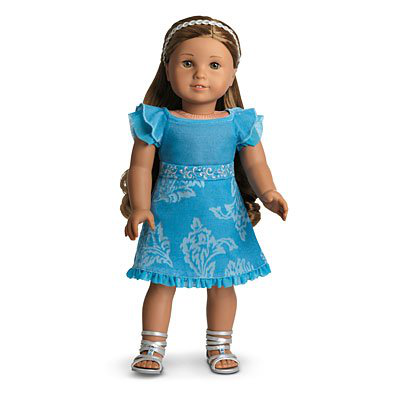 American Girl Kanani's Party Outfit Dress Set For Doll