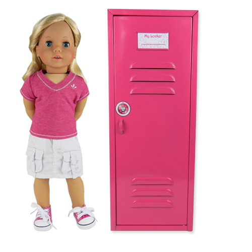 18 Inch Doll Clothes Locker For American