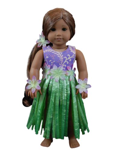 Hula Girl Swim Outfit
