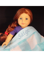 Personalized With Name Saige Blue
